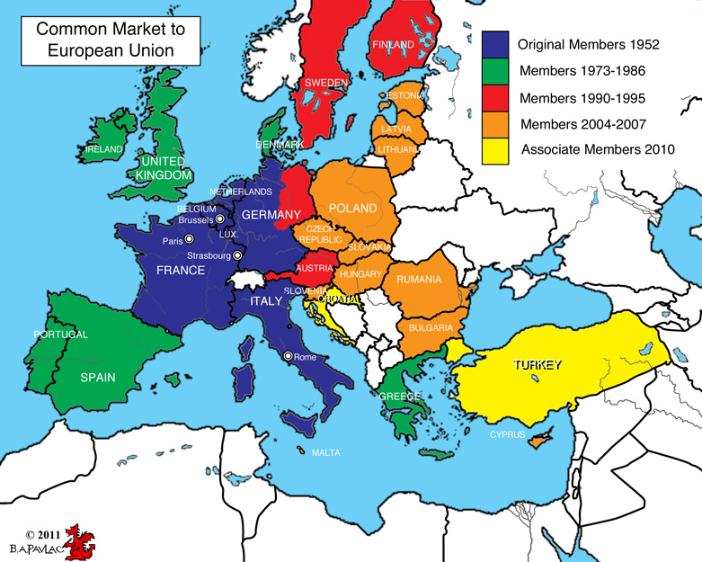 map of europe online